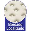 Colchão Sealy Superlastic Átrio -  Bordado do Tecido de Revestimento