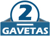 Criado Mudo Kappesberg S302 c/ 2 Gavetas -  Quantidade de Gavetas