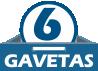 Roupeiro Kappesberg D558 c/ 4 Portas de Correr e 6 Gavetas -  Quantidade de Gavetas