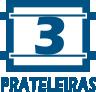 Rack Balcão BRV BR 251 3 Pratelerias -  Quantidade de Prateleiras