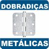 Dobradiças Metálicas