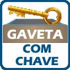 Mesa p/ Computador Valdemóveis Byte c/ 2 Gav -  Diferenciais da Gaveta