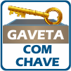 Guarda Roupa Santos Andirá Havana Plus 4.3 -  Diferenciais da Gaveta