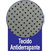 Cama Box Baú Paropas Tecido Branco -  Forração de Revestimento da Cama Box