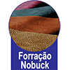 Cama Box Base Universal Nobuck Nero Black 20 -  Forração de Revestimento da Cama Box