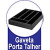 Gabinete de Cozinha Itatiaia Jazz Madeira Triplo 2 Gavetas e 3 Portas Pia Inox 1,20cm -  Diferenciais da Gaveta