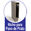 Armario Aéreo Art In Móveis Mia Coccina CZ413 1 Porta Basculante e Nicho -  Diferenciais dos Nichos