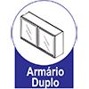 Armário Bertolini Gourmet 4029 2 Pts -  Características de móveis