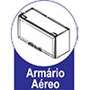 Armario Aéreo Art In Móveis Mia Coccina CZ413 1 Porta Basculante e Nicho -  Características de móveis