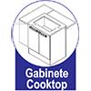 Gabinete Cooktop de Cozinha Itatiaia Belíssima Plus IGH2-80 COOK Madeira Horizontal 2 Ptas 4 ou 5 Bocas s/Tampo - Cor Branco Lacca -  Características de móveis