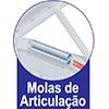Cama Box Baú Herval MH 1439 Ravena -  Características Gerais
