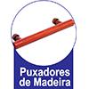 Cômoda Santos Andirá Havana Plus c/ 6 gavetas -  Tipo de puxador