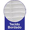 Colchão Castor Espuma D33 Sleep Max Euro -  Tecido de Revestimento da Faixa Lateral