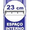 Cama Box Baú Herval MH 1439 Ravena -  Profundidade interna do Baú