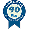 Armário Escrivaninha Tecno Mobili ME-4125 - Cor Branco c/ Pés Branco -  Garantia
