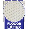 Travesseiro Castor Sleep Flocos de Látex 0,45x0,65 -  Tipo do Estofamento Interno