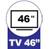 Painel para Tv Valdemóveis Olimpo -  Suporte para TV até