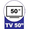 Estante Linea Brasil Lara p/ TV de até 50 -  Suporte para TV até