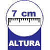 Colchonete Alveolado Ortobom D28 Azul Duplo -  Altura d##generosessao##