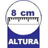 Colchonete D20 Physical 08cm Ortobom -  Altura do colchonete