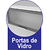 Armário de Cozinha Itatiaia Premium Aço 3 Portas c/ vidro -  Vantagens Extras d##generosessao##