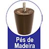 Cadeira Kappesberg Estar 2CAD101 Madeira (2 Unidades) -  Vantagens Extras d##generosessao##