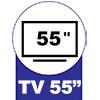 Rack Balcão BRV BR 251 3 Pratelerias -  Suporte para TV até