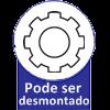 Módulo Aéreo Juvenil Novo Horizonte (componível) c/ 1 Porta e 2 Nichos -  Vantagens Extras do Guarda Roupa