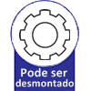 Guarda Roupa Santos Andirá Click Teen  3.6 -  Vantagens Extras do Guarda Roupa