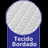 Colchão Orthocrin Espuma D20 Platinum -  Tipo Tecido de Forração Revestimento
