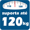 Cama Box Base Courano Branco Pés Tabaco -  Suporte de Peso