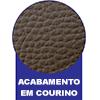 Cama Box Base Ortobom Courino Marrom 30 -  Forração de Revestimento da Cama Box
