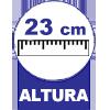 Colchão Auxiliar Ortobom Cori Bianco -  Altura da Cama Auxiliar com os pés