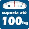Cama Box Paropas Sleeping White c/ Auxiliar -  Suporte de Peso da Cama Auxiliar