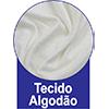 Travesseiro Castor Sleep Flocos de Látex 0,45x0,65 -  Tecido da Capa  de Revestimento