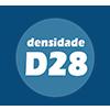 Colchonete Alveolado Ortobom D28 Azul Duplo -  Densidade da Espuma