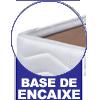 Cama Box Herval MH 1815 c/ Prateleira e Porta Copo Tecido Branco -  Características Gerais