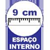 Cama Box Base Castor c/ Gavetas Tecido Branco -  Profundidade Interna das Gavetas