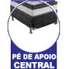Cama Dobrável em Aço Tubular c/ Colchonete -  Vantagens Extras da cama dobrável