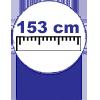 Poltrona Probel/Pelmex Mitus Two Way (Antiga França) -  Profundidade da Poltrona e Sofá Aberto