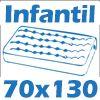 Berço 3 em 1 Multimóveis Chantilly/ Tutti Frutti 0502 - Cor Branco Brilho -  Tamanho de colchão para usar no berço