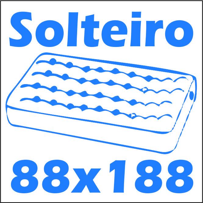 Cama de Solteiro Multimóveis Rainha/Rei 2320 -  Tamanho do colchão para usar na cama