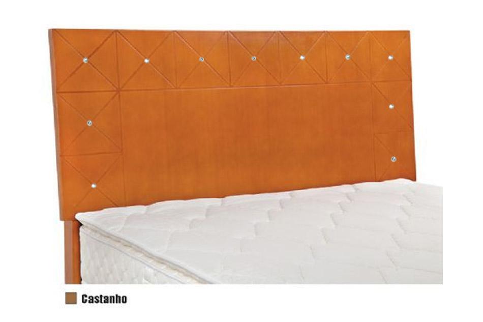 Cabeceira Box MB Havana  0,88 Solteiro - Cor Branco