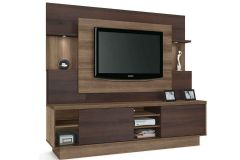 Home Theater Linea Brasil Aron p/ TV 55 Wood