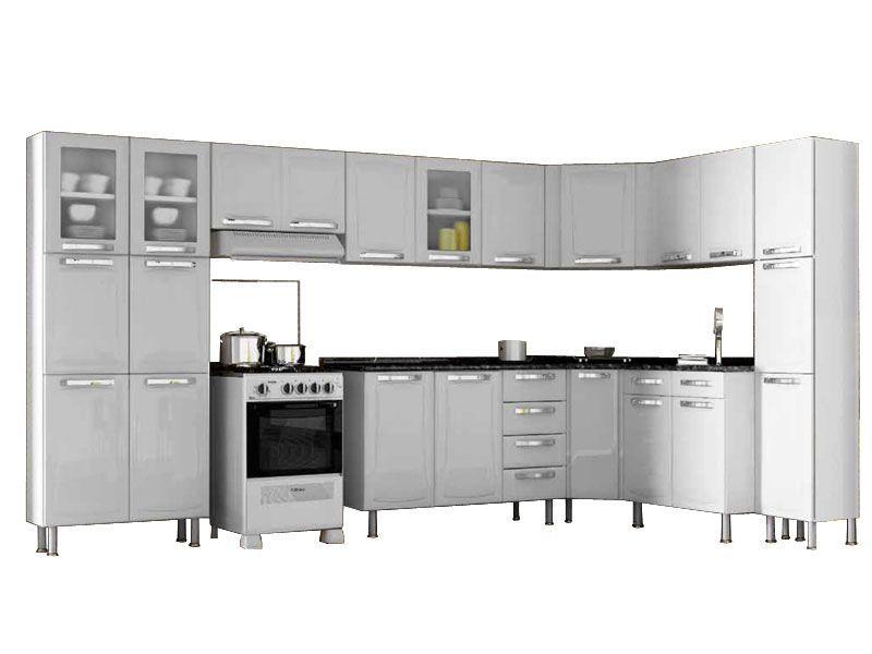 Cozinha Completa Itatiaia Itanew Kit 9 Peças CZ31