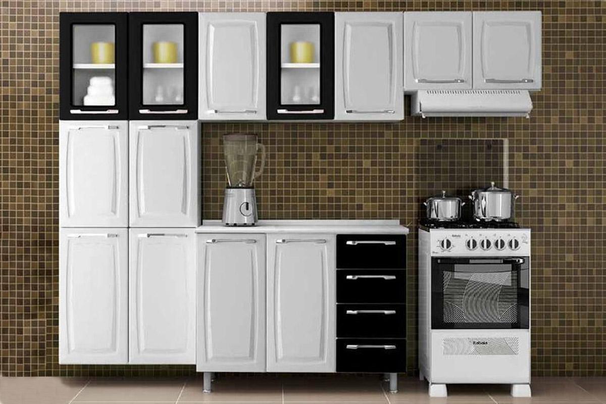 Cozinha Completa Itatiaia Criativa De A O C 4 Pe As Cz14 At 40