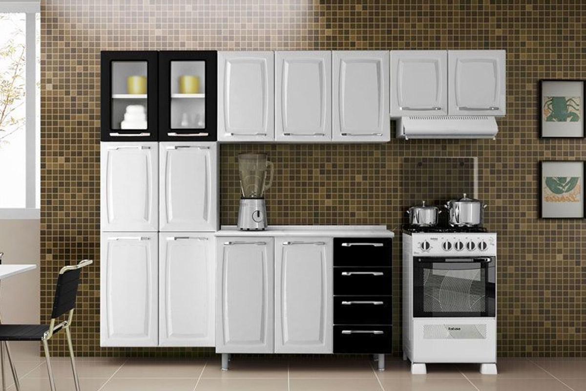 Cozinha Completa Itatiaia Anita Smart Aà §o Cz21 1 Paneleiro 1  #5B4C36 1200 800