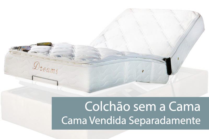 Colchão Herval Pocket MH 1430 Ajustavel C/Massagem