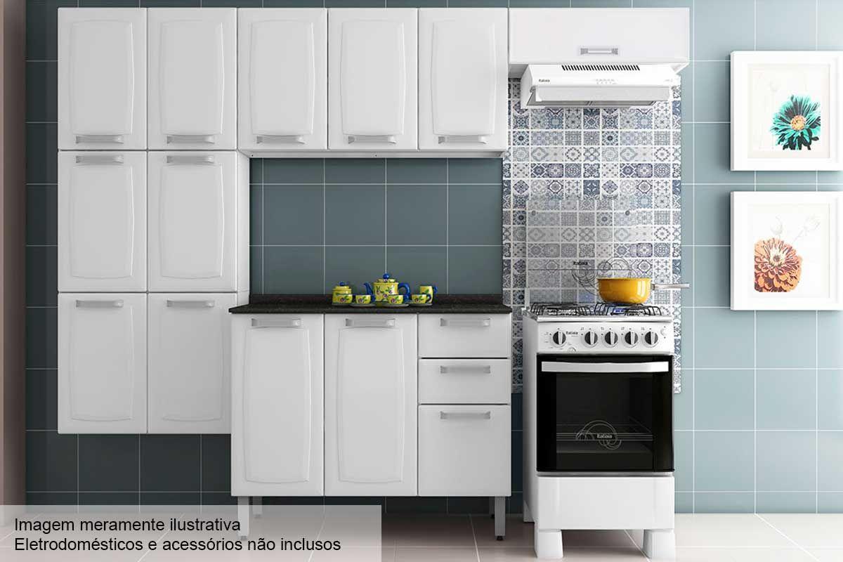 Cozinha Completa Itatiaia Luce C 4 Pe As Cz31 At 40 Off Filhao Com