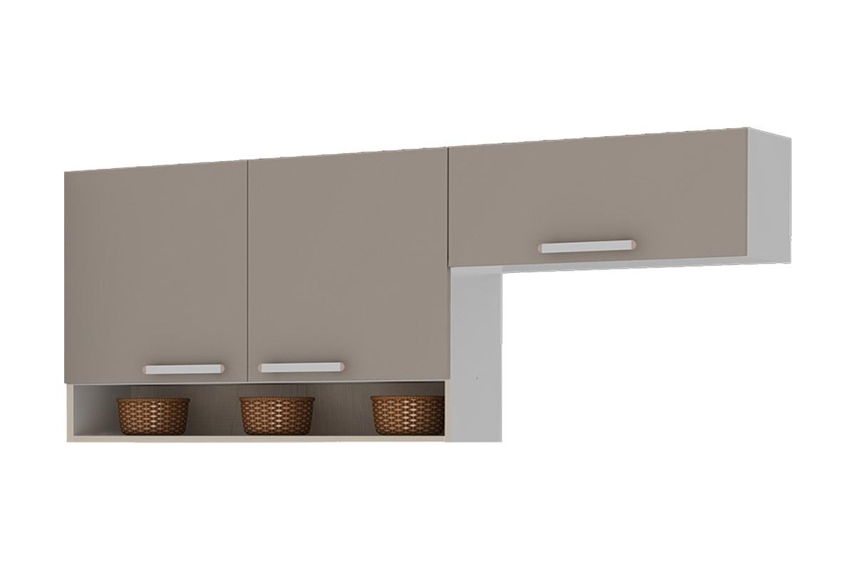 Armário de Cozinha Itatiaia Aéreo Avelã IP2NCH 120/IPH 70 Madeira c  #624B38 1200x800
